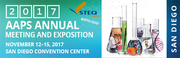 AAPS 2017 Annual Convention_STEQ America at Booth 2010