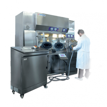 Comecer aseptic filling isolator_image