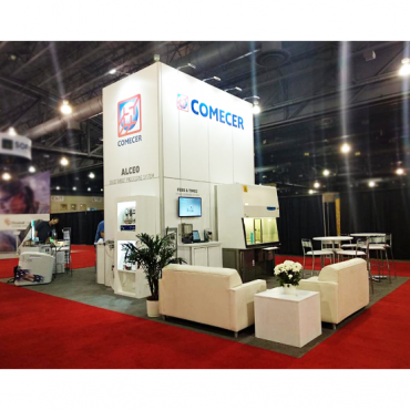 Comecer booth_STEQ America_best isolator technology