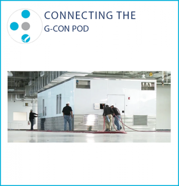 Connecting the G-CON POD image