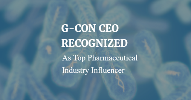 G-CON Cleanroom Containment-CEO Recognized post by STEQ America