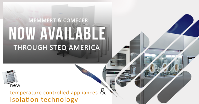 Memmert and Comecer Now Available STEQ America_image